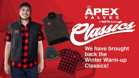 Apex Winter Warm Up Promotion